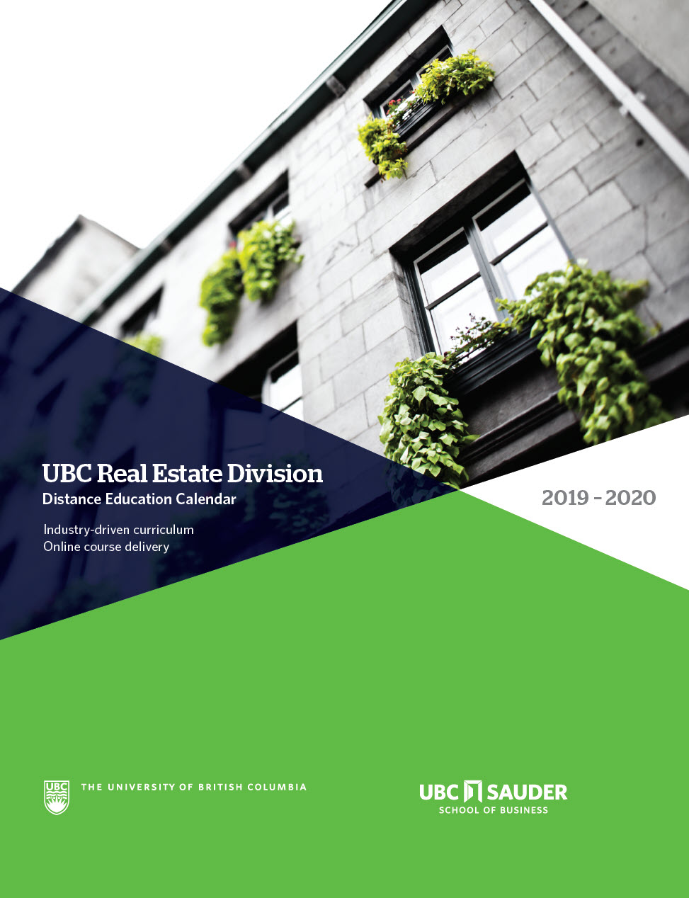 Real Estate Division Calendar (2019-2020)
