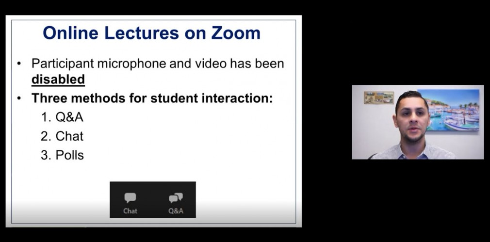 Zoom Lecture