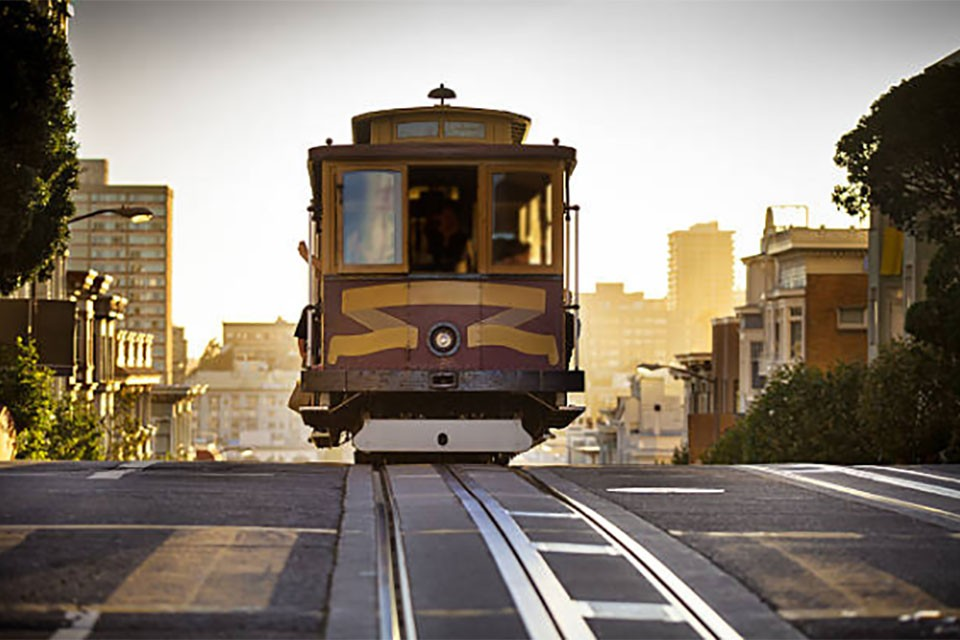 Image of Cable Car in San Francisco