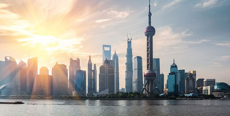 Image of Shanghai skyline