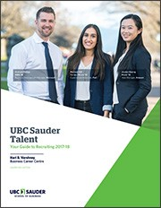 UBC Talent report