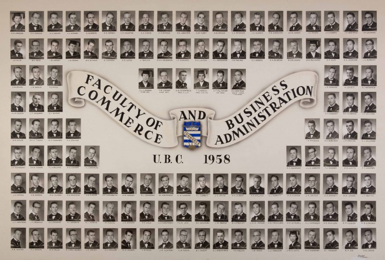 Image of BCom class of 1958