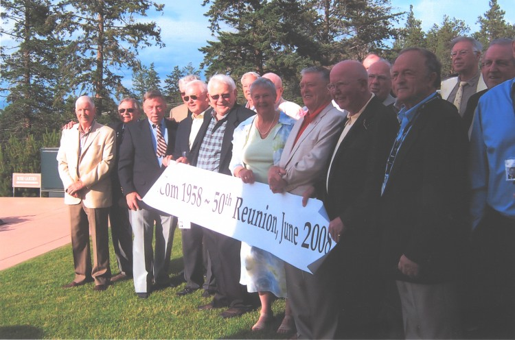 BCom Class of 1958 reunion in 2008